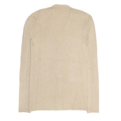 Find an authentic preowned Prada Taupe Silk & Cashmere Cardigan size 44 (Italian) at BunnyJack, where up to 50% of each sale price is donated to charity.