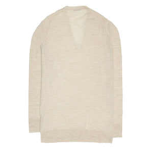 Find an authentic Prada Beige Cashmere & Silk Sweater, size 42/44 (Italian) at BunnyJack, where up to 50% of each sale price is donated to charity.