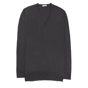 Find the authentic Prada Anthracite Cashmere & Silk Sweater, size 42/44 (Italian) at BunnyJack, where up to 50% of each sale price is donated to charity.