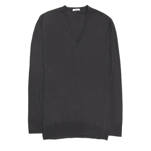 Anthracite Cashmere & Silk Sweater