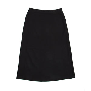Find an authentic preowned Prada Black Black Wool A-Line Skirt size 44 (Italian) at BunnyJack, where up to 50% of each sale price is donated to charity.