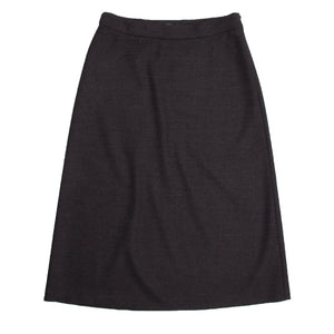 Find an authentic preowned Prada Charcoal Grey A-Line Skirt size 46 (Italian) at BunnyJack, where up to 50% of each sale price is donated to charity.
