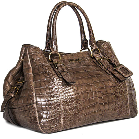 Find Prada crocodile bags, authentic and preowned, at BunnyJack.