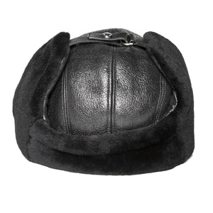 Find an authentic preowned Prada Black Sheep Shearling Cap size Medium at BunnyJack, where up to 50% of each sale price is donated to charity.