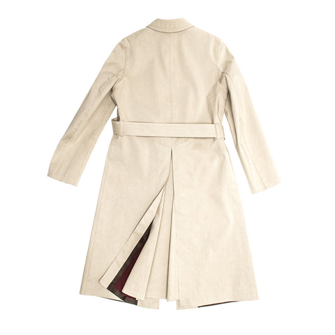 Find an authentic preowned Prada Khaki Cotton Trench Coat size 44 (Italian) at BunnyJack, where up to 50% of each sale price is donated to charity.