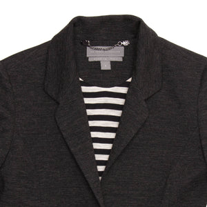 Find an authentic preowned Proenza Schouler Charcoal Grey Blazer, size 8 (US) at BunnyJack.
