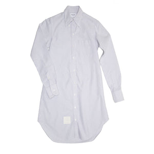 Find an authentic preowned Thom Browne Blue & White Shirt Dress size 2 at BunnyJack, where a portion of every sale goes to charity.