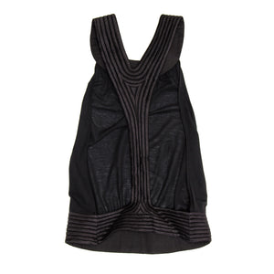 Vanessa Bruno Black Halter Tank Top