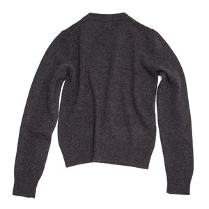 Find an authentic preowned Prada Charcoal Grey Cashmere Sweater size 46 (Italian) at BunnyJack, where up to 50% of each sale price is donated to charity.