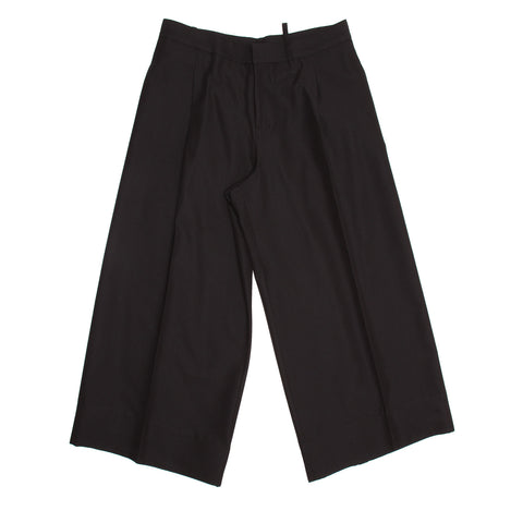 Black Baggy Wide Legged Pants