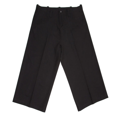 Black Wide Legged Slack Pants
