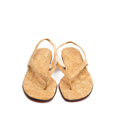 Find an authentic preowned Christian Louboutin Brown Cork Thong Sandals, size 40 (Italian) at BunnyJack.