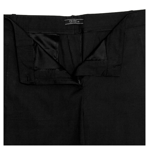 Find an authentic preowned Prada Black Classic Slacks size 48 (Italian) at BunnyJack, where up to 50% of each sale price is donated to charity.