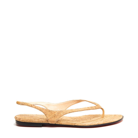 Brown Corcl Thong Sandals