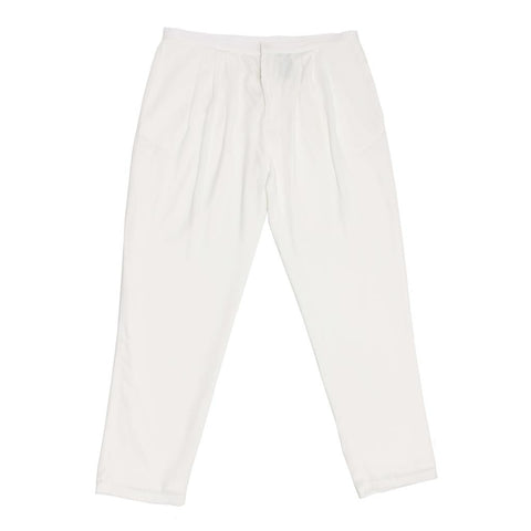 White Light Loose Pants