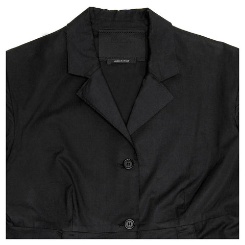 Find an authentic preowned Prada Black Cotton Princess Cut Coat size 42 (Italian) at BunnyJack, where up to 50% of each sale price is donated to charity.