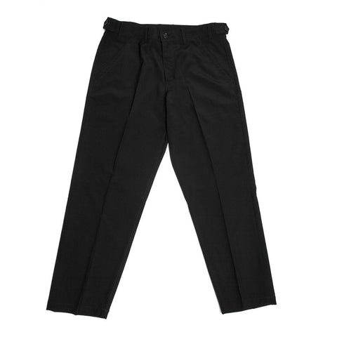 Wool Navy Pants For Man