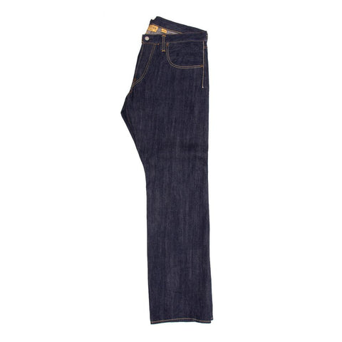 Navy Raw Denim Jeans