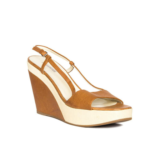 Find authentic preowned Jil Sander Tan & Beige Leather Sandals, size 40.5 (Italian) at BunnyJack, where a portion of every sale goes to charity.