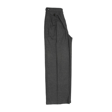 See By Chloe Grey Wool Plaid Pants, Size 48 (Italian)