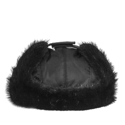 Find an authentic preowned Prada Black Mink & Nylon Cap size Medium at BunnyJack, where up to 50% of each sale price is donated to charity.