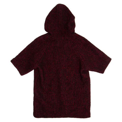 Isabel Marant Red Multicolor Hooded Sweater