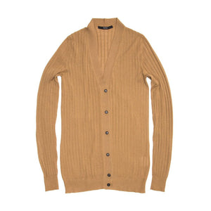 Find the Gucci Camel Cashmere Cardigan at BunnyJack.