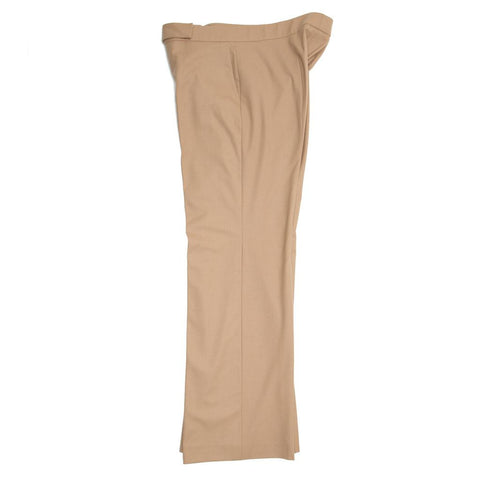 Find authentic preowned Jil Sander Camel Wool Wide Trousers, size 42 (French) at BunnyJack, where a portion of every sale goes to charity.