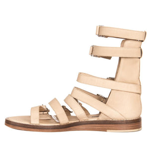 Find an authentic preowned Ann Demeulemeester Tan Gladiator Sandals, size 40 (Italian) at BunnyJack.