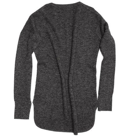 Find an authentic preowned Proenza Schouler Grey Melange Cashmere Sweater, size L at BunnyJack.