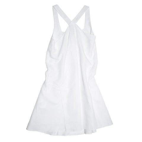 Chloe White Ramie Dress, Size 40 (French)