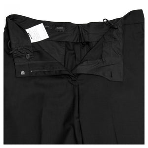 Find an authentic preowned Jil Sander Black Wool Pants, size 42 (Italian) at BunnyJack, where a portion of every sale goes to charity.
