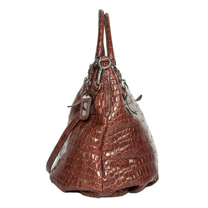 Find an authentic preowned Prada Red Crocodile Sac Style Bag at BunnyJack, where up to 50% of each sale price is donated to charity.