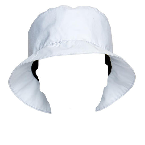 Find an authentic preowned Prada Pale Blue Goretex Bucket Cap size 44 (Italian) at BunnyJack, where up to 50% of each sale price is donated to charity.