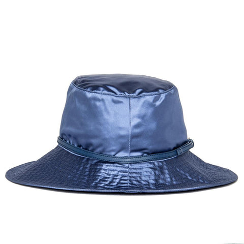 Find an authentic preowned Prada Royal Blue Silk Hat at BunnyJack, where up to 50% of each sale price is donated to charity.