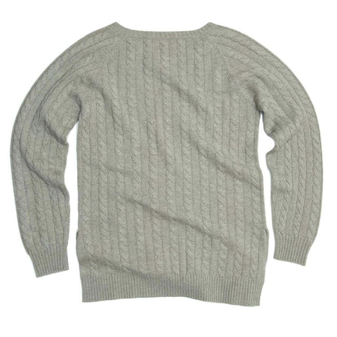 Find an authentic preowned Brunello Cucinelli Grey Green Cashmere Sweater, size L at BunnyJack.
