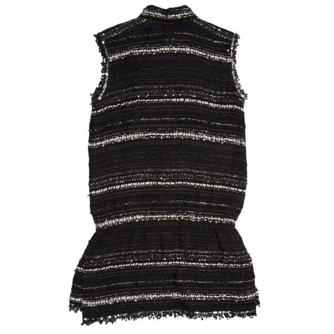 Find an authentic preowned Chanel Multicolor Cotton Sleeveless Tunic, size 44 (French) at BunnyJack, where every sale triggers a charity donation.