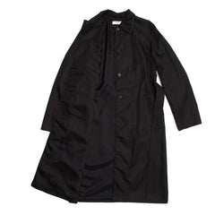 Find an authentic preowned Prada Black Nylon Raincoat size Large at BunnyJack, where up to 50% of each sale price is donated to charity.