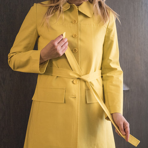 Yellow Rain Coat