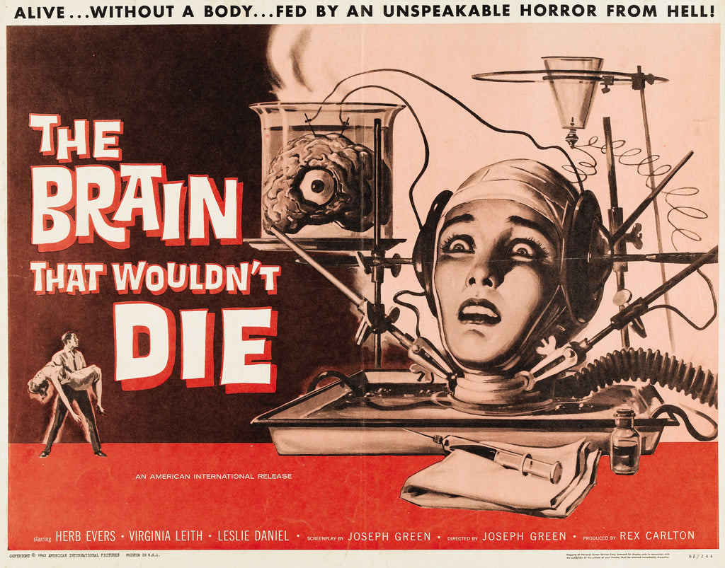 The Brain that wouldn't Die movie poster
