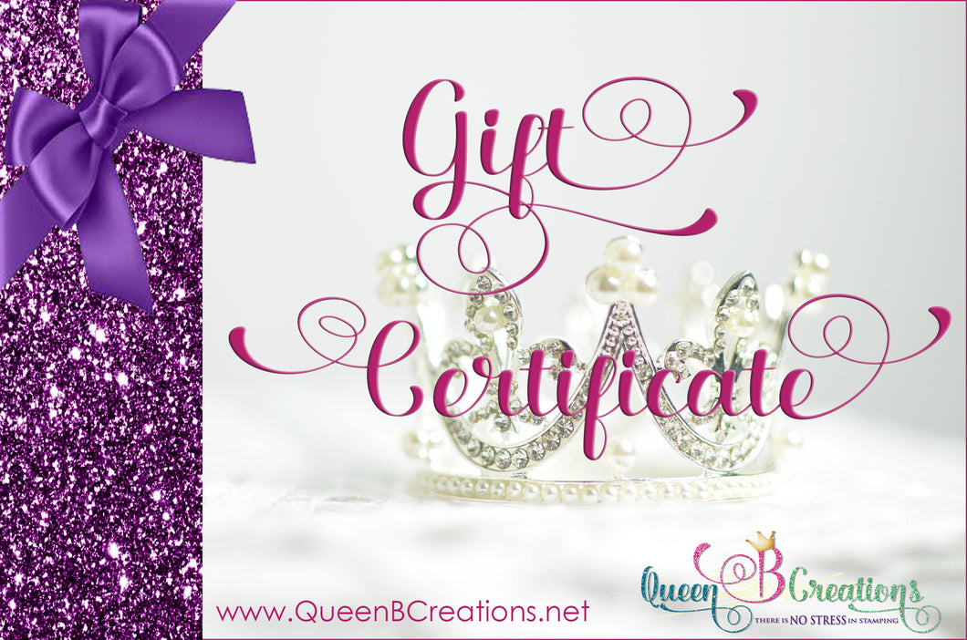 Queen B Creations Gift Card