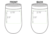Load image into Gallery viewer, 16oz Laser Engraved Insulated Stemless Wine Tumbler