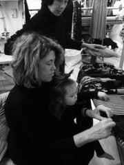 Kathleen And Her Granddaughter