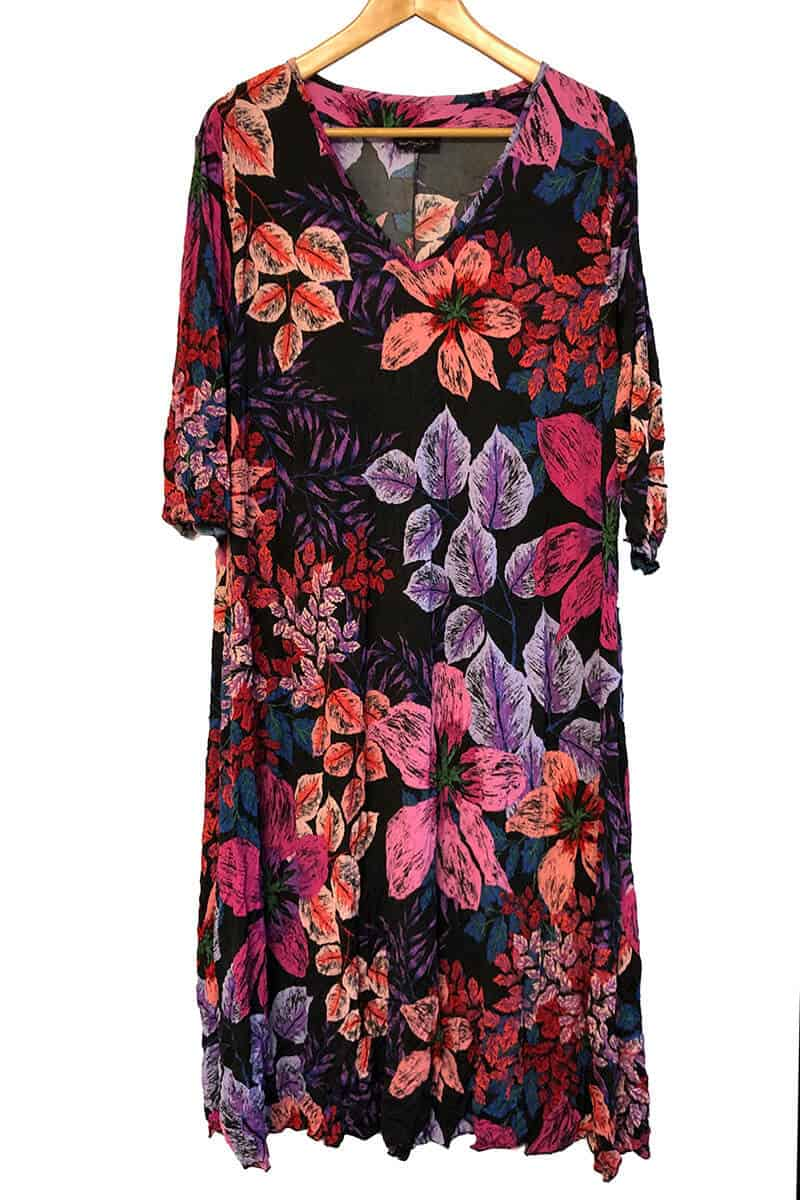 Floral Print A-Line Dress Made To Order