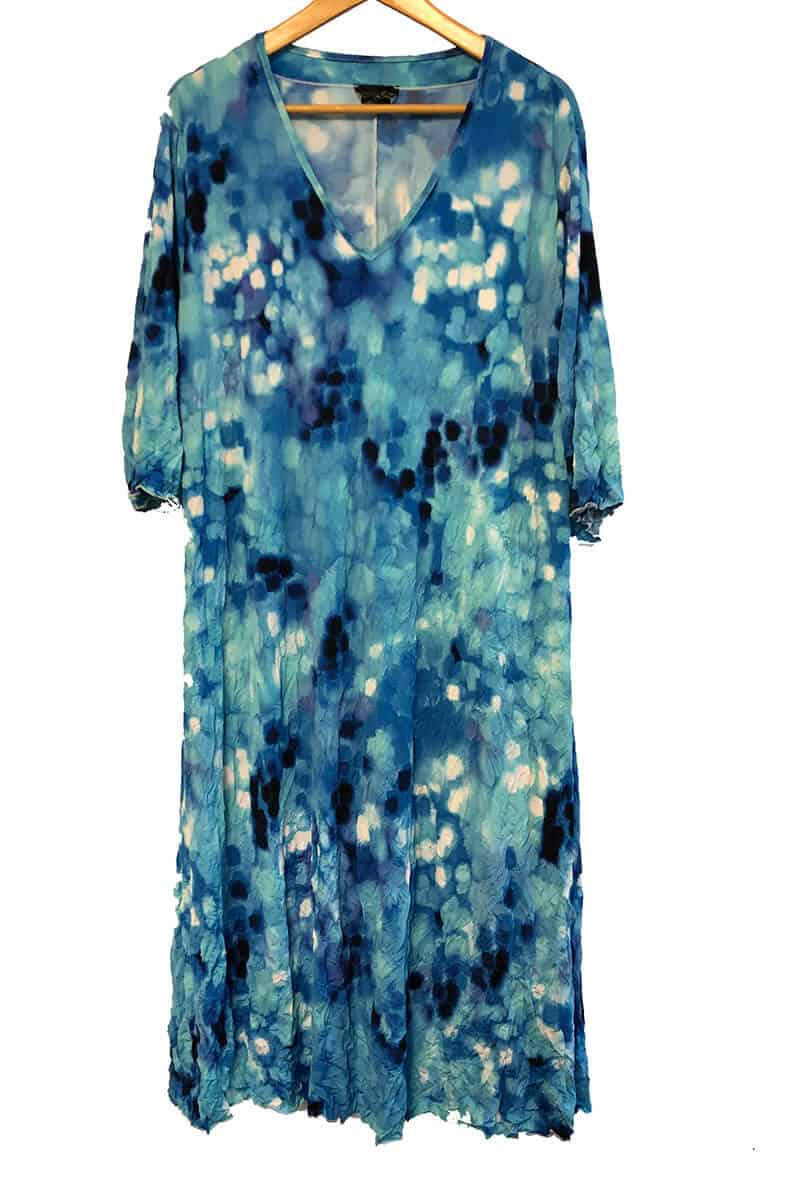 A-Line Dress With Elbow Length Sleeves Made To Order