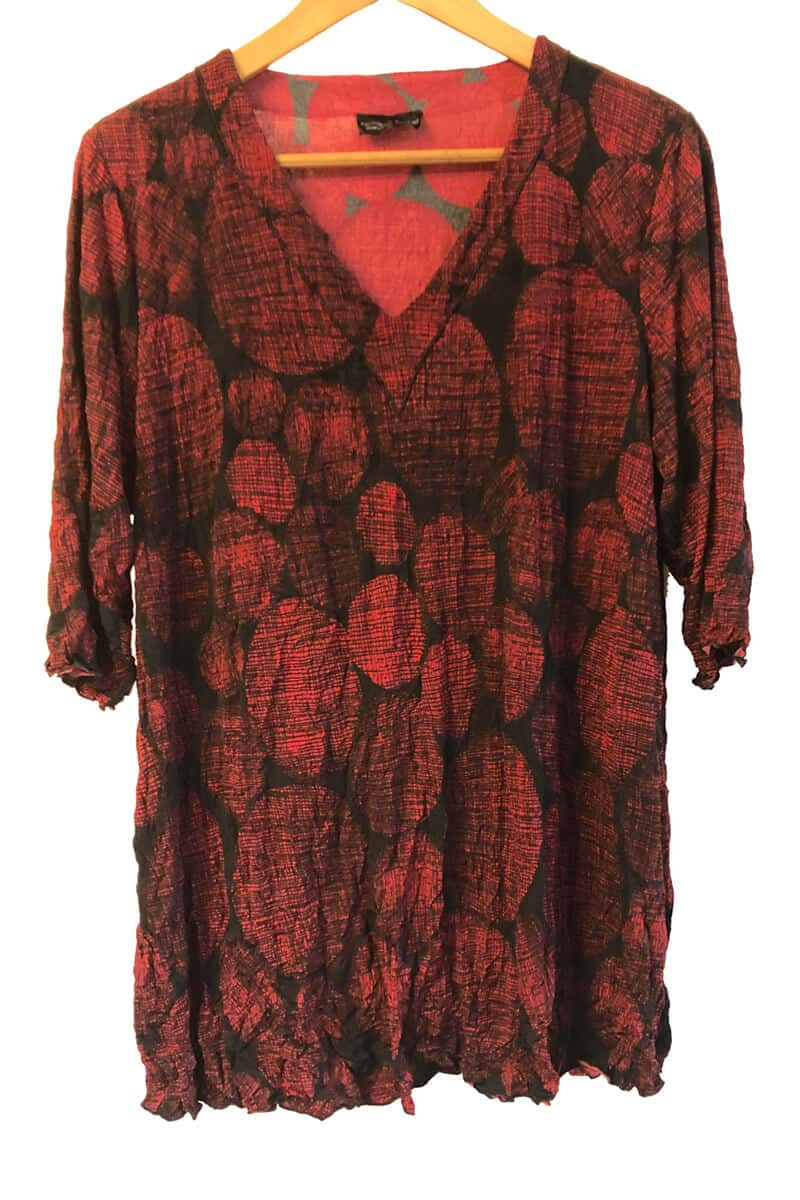 Red Spotted Women's Clothing Made To Order