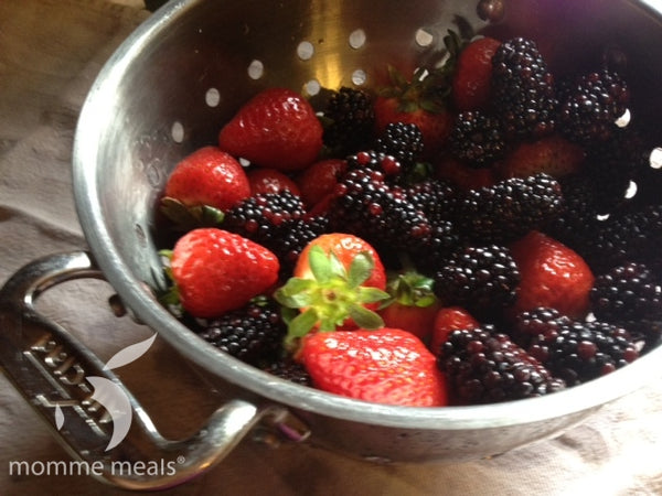 Berries: Wash, Rinse & Eat