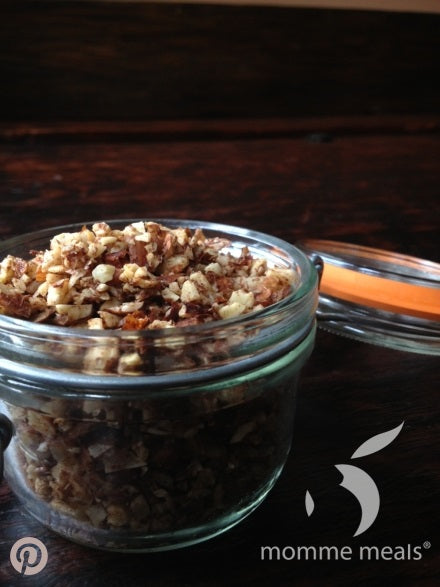 Coconut Almond Crumble