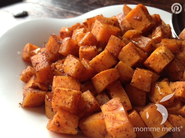 Honey Spiced Sweet Potatoes
