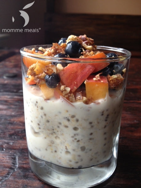 Overnight Oatmeal: Ginger Cobbler Crunch